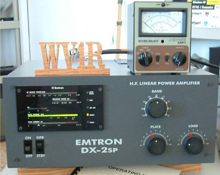 The Aussy QRO Voodoo Device of WV4R!